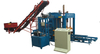 QT4-18 Automatic Press Block Machine,Cement Powder Solid Brick Machine