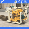 QT40-3A Mobvable hydraulic concrete hollow block egg laying machine