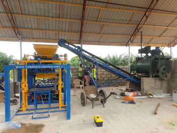 QT4-24 Block machine feedback from Ghana customer