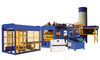 QT10-15 full automatic concrete interlocking brick making machine